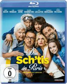 Die Sch'tis in Paris (Blu-ray), Blu-ray Disc