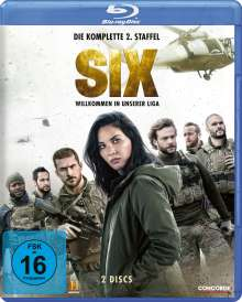 Six Staffel 2 (Blu-ray), 2 Blu-ray Discs