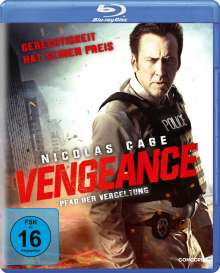 Vengeance (2017) (Blu-ray), Blu-ray Disc