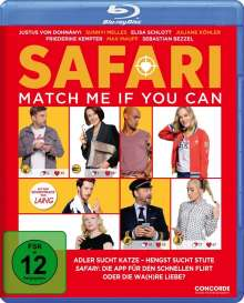 Safari - Match Me If You Can (Blu-ray), Blu-ray Disc
