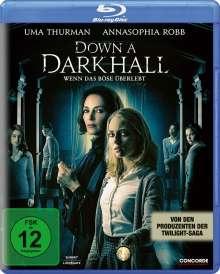 Down a Dark Hall (Blu-ray), Blu-ray Disc