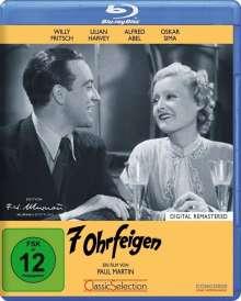 7 Ohrfeigen (Blu-ray), Blu-ray Disc