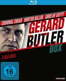 Gerard Butler Box (Blu-ray), 3 Blu-ray Discs