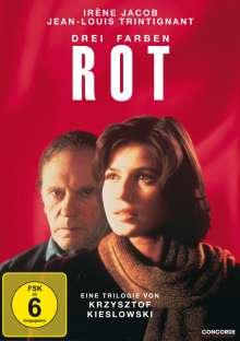 Drei Farben: Rot, DVD