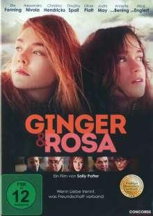 Ginger & Rosa, DVD