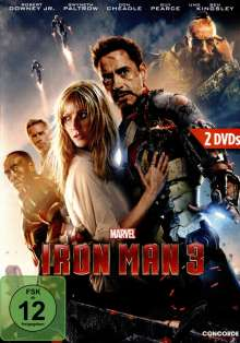 Iron Man 3 (Special Edition), 2 DVDs