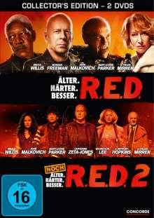 R.E.D. / R.E.D. 2, 2 DVDs