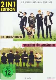 Die Trauzeugen / Sterben für Anfänger, 2 DVDs