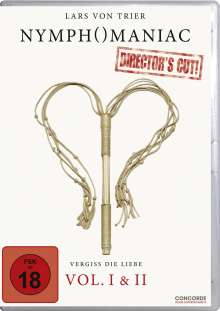 Nymphomaniac Vol. 1 & 2 (Director's Cut), 2 DVDs