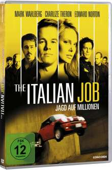 The Italian Job - Jagd auf Millionen (2003), DVD