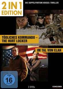 Tödliches Kommando - The Hurt Locker / Im Tal von Elah, 2 DVDs