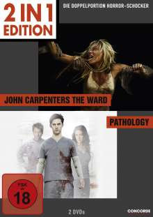 John Carpenter's The Ward / Pathology, 2 DVDs