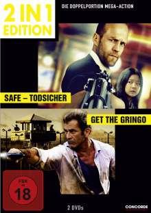 Safe - Todsicher / Get the Gringo, 2 DVDs