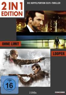 Ohne Limit / Looper, 2 DVDs