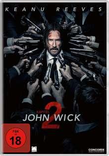John Wick: Kapitel 2, DVD