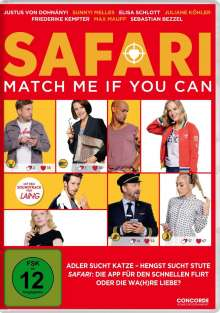 Safari - Match Me If You Can, DVD