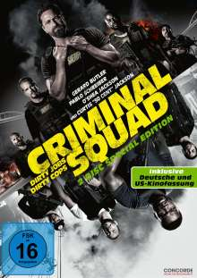 Criminal Squad (Special Edition), 2 DVDs