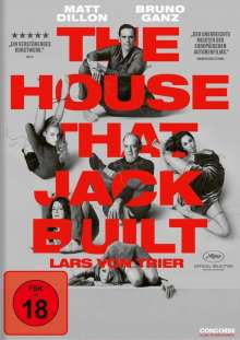 The House that Jack built, DVD