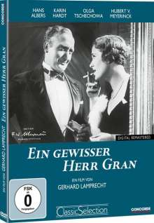 Ein gewisser Herr Gran, DVD