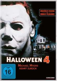 Halloween 4, DVD