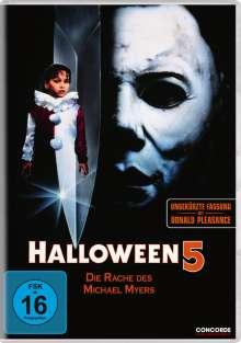 Halloween 5, DVD