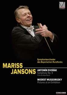 Mariss Jansons dirigiert Dvorak und Mussorgsky, DVD