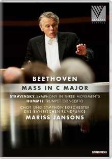Ludwig van Beethoven (1770-1827): Messe C-dur op.86, DVD