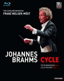 Johannes Brahms (1833-1897): Johannes Brahms-Cycle, 3 Blu-ray Discs