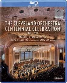 Orchesterwerke diverse: Cleveland Orchestra - Centennial Celebration 1918-2018, Blu-ray Disc