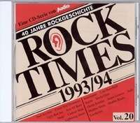 Rock Times 1993/1994 Vol. 20, CD