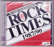 Rock Times Plus 1987/90 Vol. 9, CD