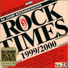 Rock Times 1999/2000 Vol. 23, CD