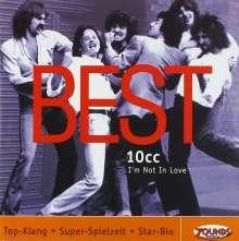10CC: I'm Not In Love - Best, CD