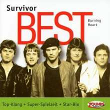 Survivor: Burning Heart - Best, CD