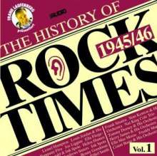 The History Of Rock Times Vol. 1, CD