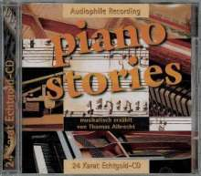 Thomas Albrecht: Piano Stories:24 Karat Gold-CD, CD