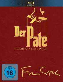 Der Pate I-III (The Coppola Restauration) (Blu-ray), 4 Blu-ray Discs