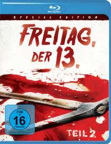 Freitag, der 13. Teil 2 (Blu-ray), Blu-ray Disc