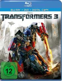 Transformers 3 (Blu-ray + DVD + Digital Copy), 1 Blu-ray Disc und 1 DVD