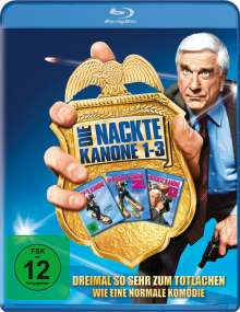 Die nackte Kanone Collection (Blu-ray), 3 Blu-ray Discs