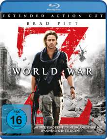 World War Z (Extended Cut) (Blu-ray), Blu-ray Disc
