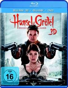 Hänsel und Gretel: Hexenjäger (2D & 3D Blu-ray & DVD), 2 Blu-ray Discs
