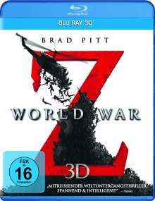 World War Z (3D Blu-ray), Blu-ray Disc