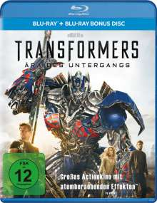 Transformers 4: Ära des Untergangs (Blu-ray), 2 Blu-ray Discs