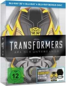 Transformers 4: Ära des Untergangs (Bumblebee Edition) (3D & 2D Blu-ray), 3 Blu-ray Discs