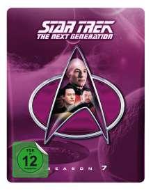 Star Trek: The Next Generation Season 7 (Blu-ray im Steelbook), 6 Blu-ray Discs