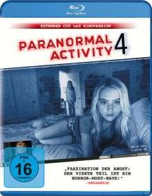 Paranormal Activity 4 (Blu-ray), Blu-ray Disc