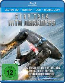 Star Trek - Into Darkness (2D & 3D Blu-ray + DVD), 3 Blu-ray Discs