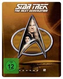 Star Trek: The Next Generation Season 2 (Blu-ray im Steelbook), 5 Blu-ray Discs
