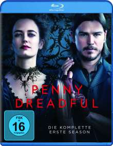 Penny Dreadful Season 1 (Blu-ray), 3 Blu-ray Discs
